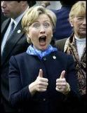 Hillary Thumbs up-1.JPG