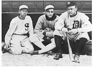 Thumbnail image for Lena, Eddie, Ty cobb.jpg