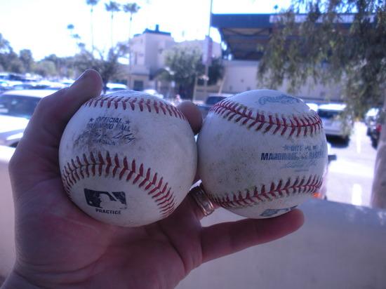 Heltons BP baseballs 2-28-09.JPG