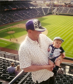 Hunters first Rockies game1.jpg