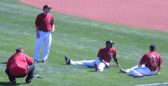 D-backs relaxing 3-1-09.jpg