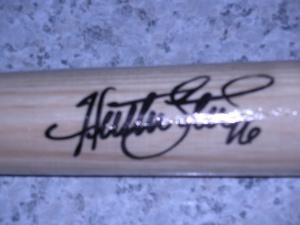 Huston Street Autograph