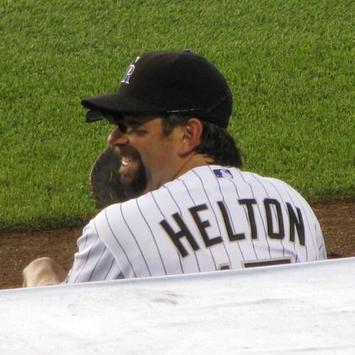 Helton hangout dugout 7-10-09.JPG