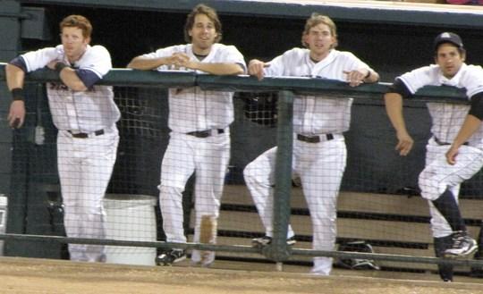 the dugout 7-18-09.JPG