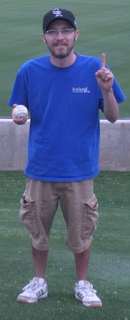 Andys first home run ball.jpg