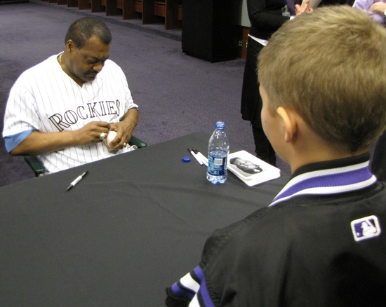 Don Baylor signing Hunters ball.jpg