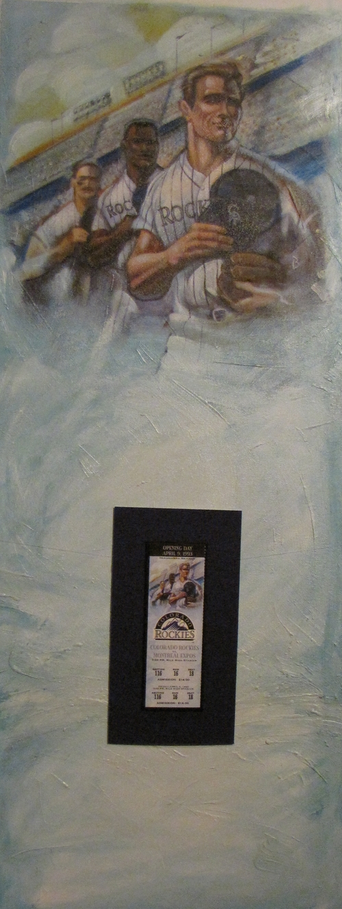 Rockies Opening Day 1993 ticket and original artwork.jpg