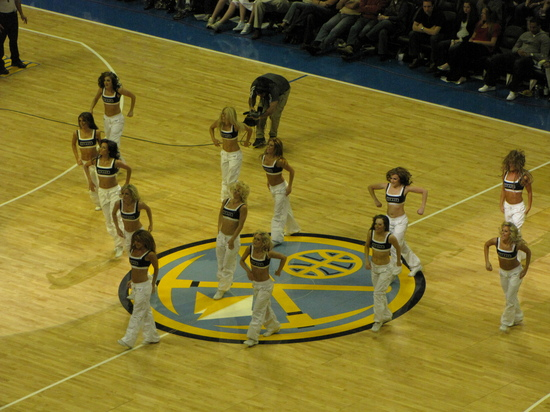 Denver Nuggets Cheerleaders 2-28-10