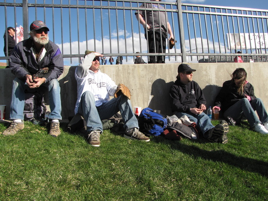 The Gang at Isotopes Park.JPG