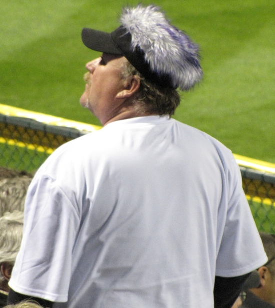Best fuzzy hat of the game 4-27-10.JPG