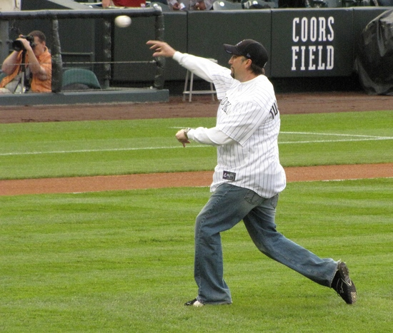 Some guy throwing out the first pitch 4-27-10.JPG