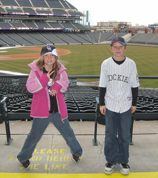Hunter and Mylee Coors Field RF.jpg