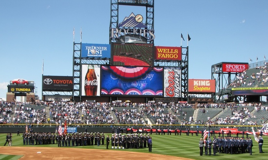 Troops on the field OD 2011.jpg