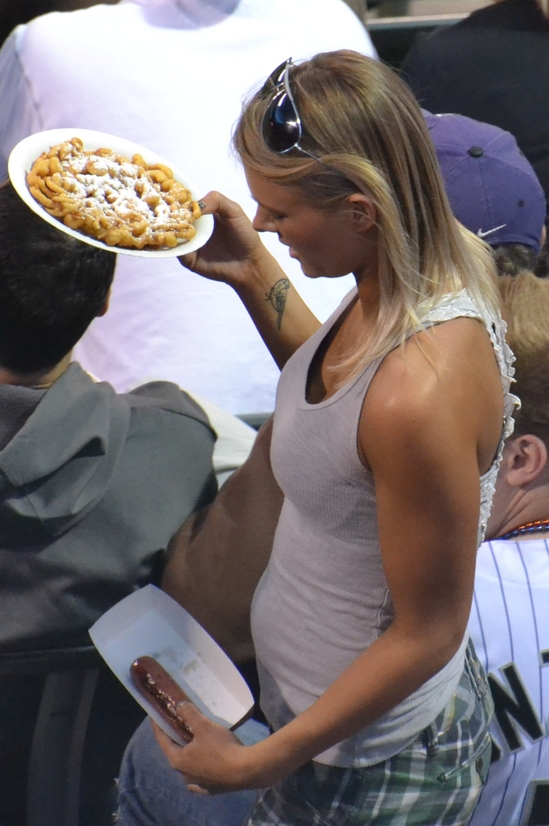Best funnel cake and bunless weiner of the game 5-10-11.jpg