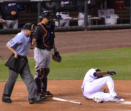 Dexter Fowler injury-4 5-10-11.jpg