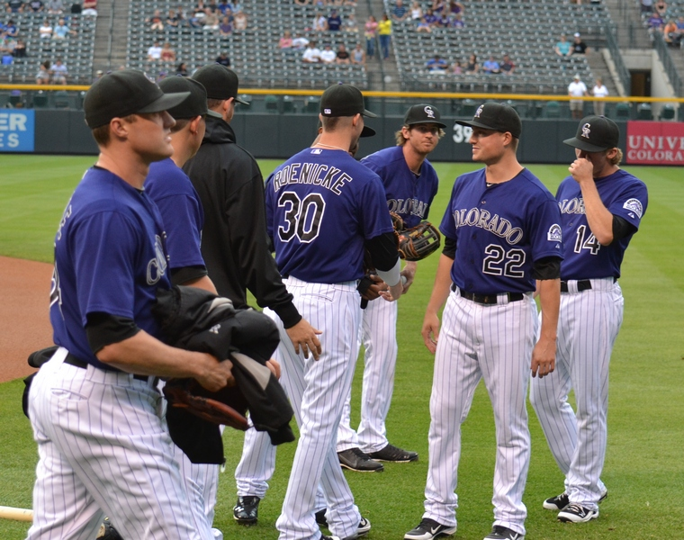 Woo Hoo...Rockies Take Two from the Blue (6/6)