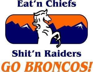eating chiefs shittn raiders