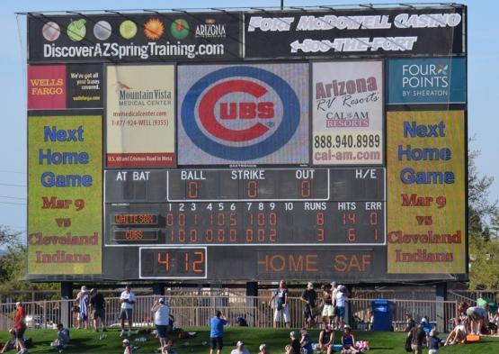 final score scoreboard hoho