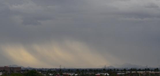 rain coming  hoho