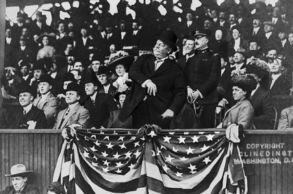 william Taft first pitch