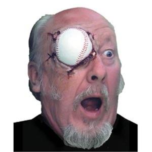 baseball to the eye